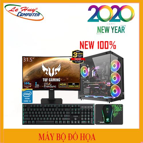 Máy Tính Bộ Đồ Họa Core i5 - Thế Hệ 9 LHC I5 9600K/2x8G/HDD 1TB/SSD 240GB/VGA NVIDIA QUADRO P1000 4GB/POWER CM MWE 650 80Plus Bronze V2