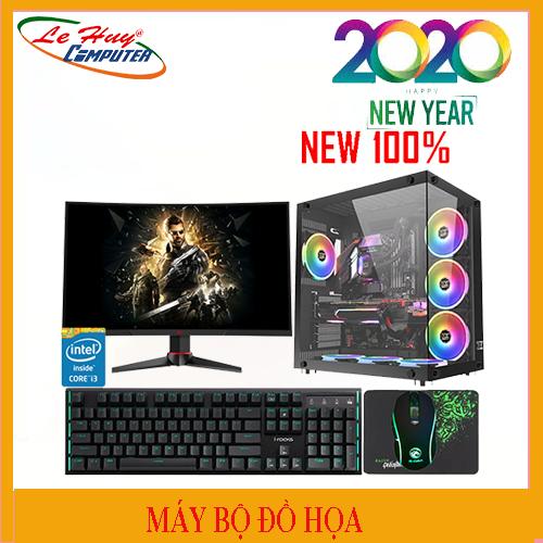 Máy tính Bộ ĐỒ HỌA  LHC I7 9700/16GB/HDD 1TB/SSD 250GB/VGA GTX 1660 6G/POWER CM MWE 650 80Plus BronzeV2
