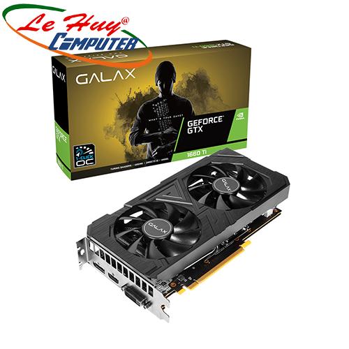 Card Màn Hình - VGA GALAX GeForce GTX 1660Ti 6GB GDDR6 EX