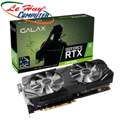Card Màn Hình - VGA GALAX GeForce RTX 2060 SUPER (1-Click OC) 8GB GDDR6