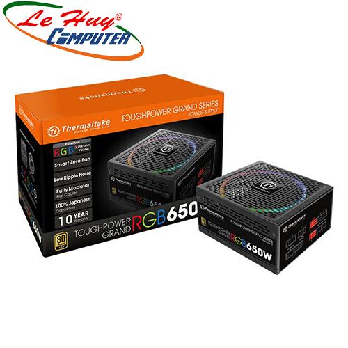 Nguồn máy tính Thermal Toughpower Grand 650W RGB - Gold