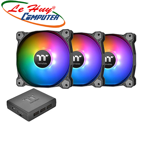 Fan Case THERMALTAKE Pure Plus 12 RGB (3-Fan Pack)