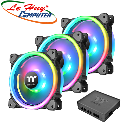 Fan Case THERMALTAKE Riing Trio 12 LED RGB (3-Fan Pack)