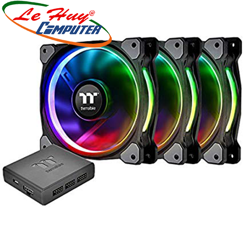Fan Case THERMALTAKE Riing Plus 12 RGB (3 Fan)