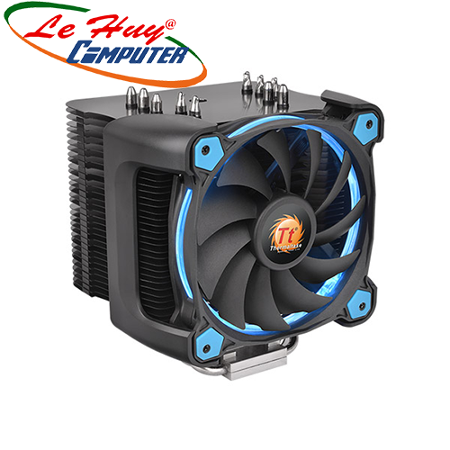Tản nhiệt khí THERMALTAKE Riing Silent 12 Pro Blue CPU Cooler