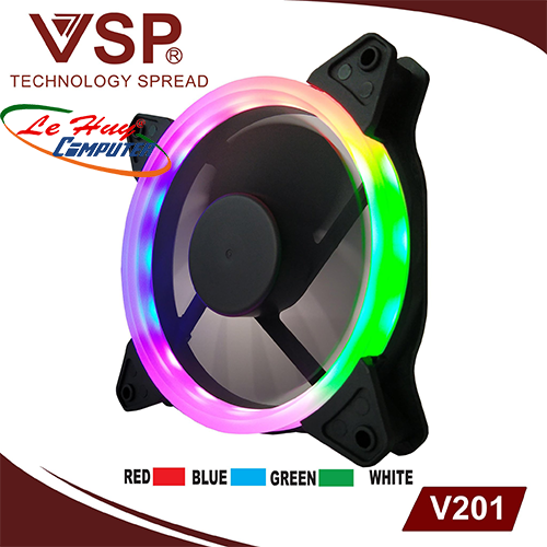 Fan Case V201 (Led 1 mặt)