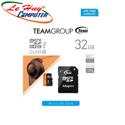 Thẻ nhớ TeamGroup micro 32GB SDHC UHS-I