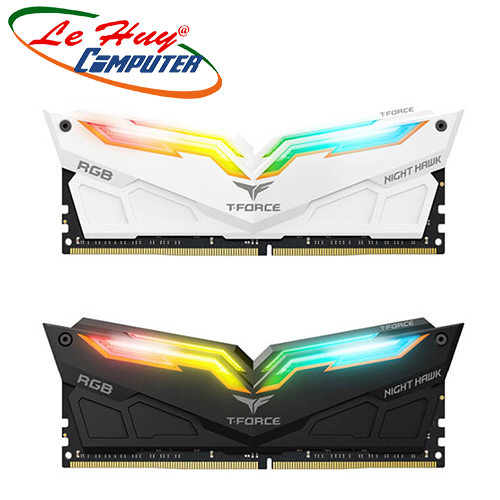 Ram Máy Tính TEAM Night Hawk RGB/Night Hawk DDR4 - 3000MHz  8GBx2 ( For Led )