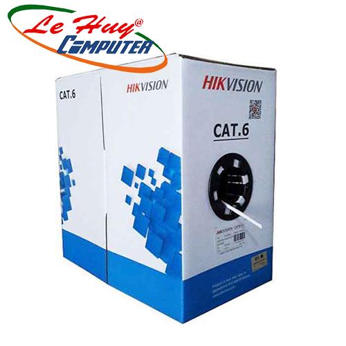 Cáp mạng CAT6 UTP HIKVISION DS-1LN6-UE-W - 305M