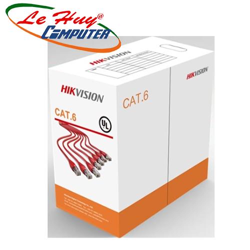 Cáp mạng CAT6 UTP HIKVISION DS-1LN6-UU - 305M