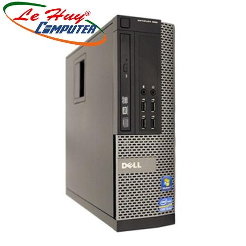 Máy bộ Dell Optiplex 990SFF Core I7-2600 ( 8M/3.8 Ghz), Ram 4GB, HDD 250GB, DVD, Free OS, Phím_Chuột