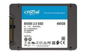 Ổ Cứng SSD Crucial BX500 480G (CT480BX500SSD1)