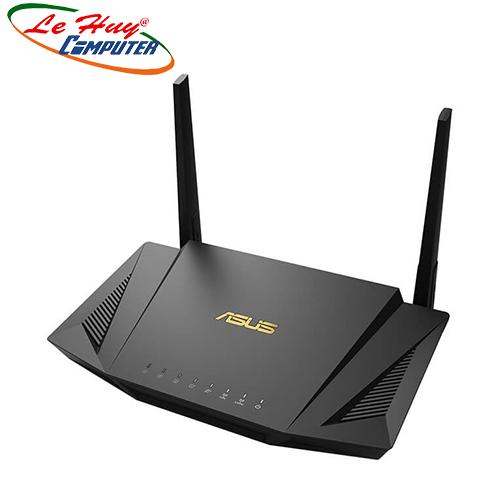 Thiết bị mạng - Router Wifi ASUS RT-AX56U (Gaming Router) Wifi AX1800 2 băng tần