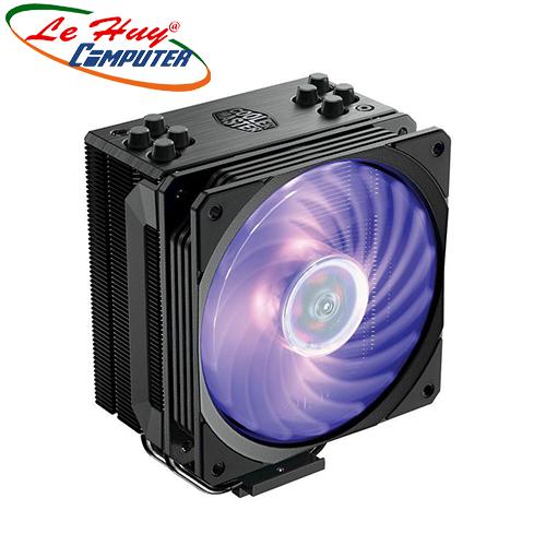 Tản nhiệt khí CPU Cooler Master HYPER 212 RGB - Black Edition