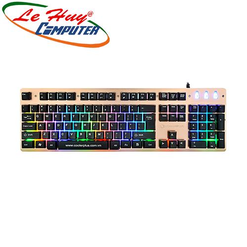 Bàn phím COOLERPLUS CPK-FC180L LED