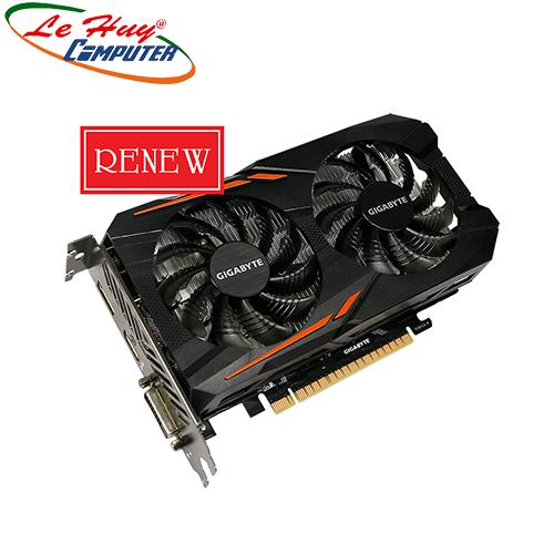 Card Màn Hình - VGA GIGABYTE GTX 1050 2G 2 FAN  renew 3năm