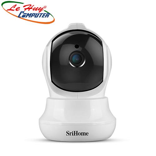 Camera IP Wifi SriHome SH020 Chất Lượng Full HD 1080p 3.0MP(Tặng kèm thẻ nhớ 32GB)