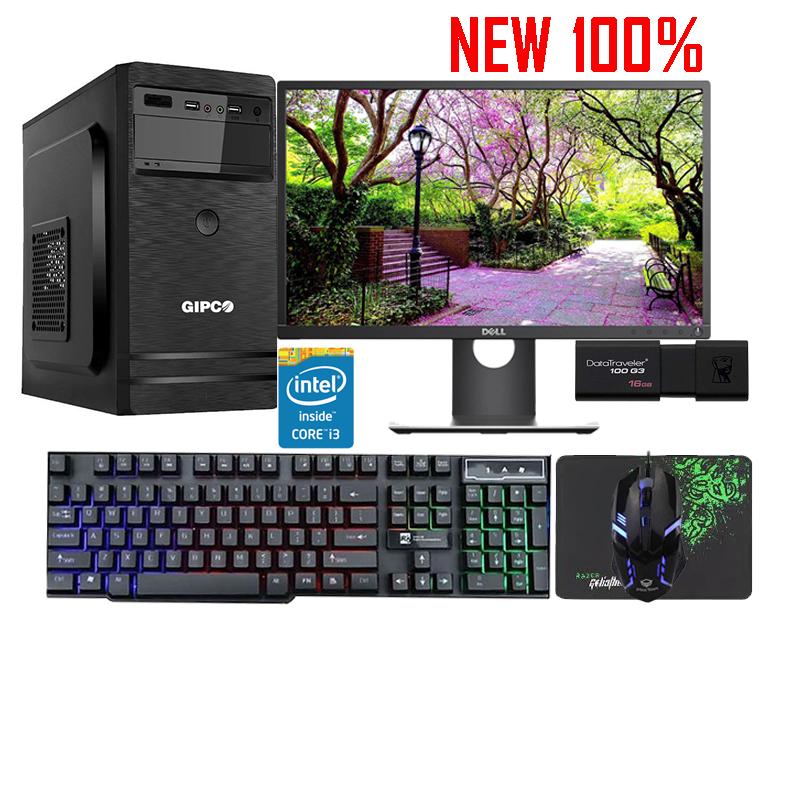 PC gaming đồ họa B365:i5 9600K,GTX1660 6G, RAM 8Gb,SSD 128GB+HDD 1TB, Power 600W