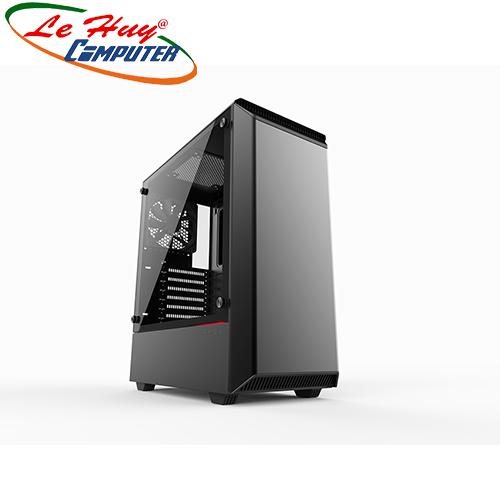 Vỏ máy tính PHANTEKS ECLIPSE P300 TEMPERED GLASS Black
