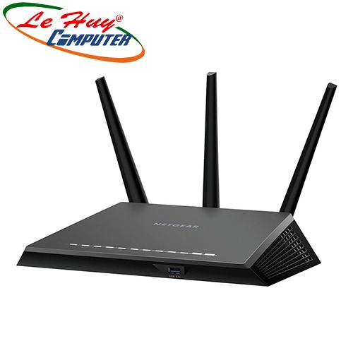 Thiết bị mạng - Router Wifi NETGEAR R7000 Nighthawk AC1900 Smart WiFi Dual Band Gigabit Router