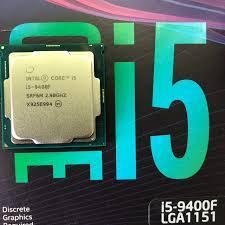 CPU Intel Core i5-9400F 4.10GHz/9MB/6 Cores,6 Threads/Socket 1151/Coffee Lake TRAY KÈM FAN