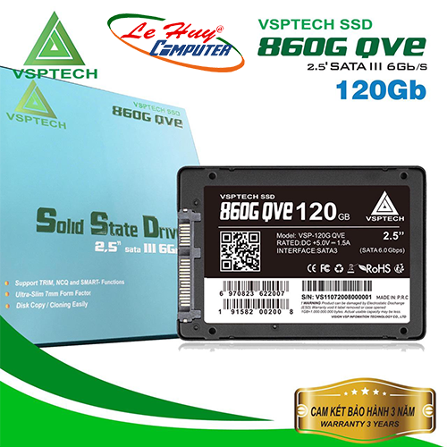 SSD VSPTECH 120G 860G QVE SATA 2.5