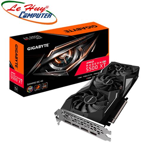 Card Màn Hình - VGA GIGABYTE Radeon RX 5500 XT GAMING OC 4G