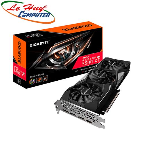 Card Màn Hình - VGA GIGABYTE Radeon RX 5500 XT GAMING OC 8G