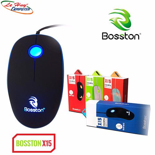 Chuột Bosston X15 USB LED