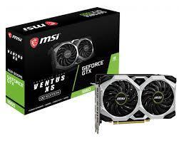 Card Màn Hình - VGA MSI GeForce GTX1660 VENTUS XS 6G OC