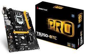 Bo mạch chủ - Mainboard BIOSTAR TB250(2nd/6VGA/VGA/12VGA)-03TH