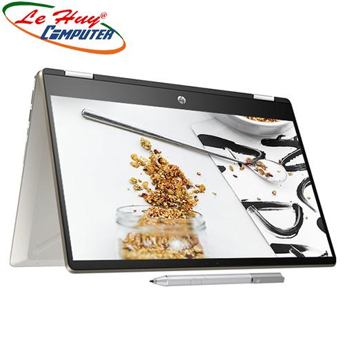 Máy Tính Xách Tay/Laptop HP Pavilion X360-DH1137TU(Q8P82PA) i3-10110/4G/SSD 256/14Inch