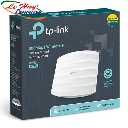 Thiết bị mạng - Router Wifi Gắn Trần TP-Link EAP115 300Mbps