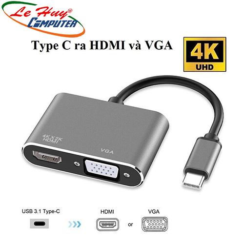Cáp Chuyển Type-C ra HDMI và VGA