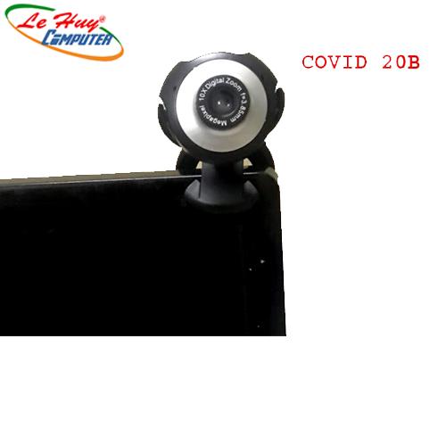 WEBCAM COVID 20B 1080p FullHD CÓ MIC- Bảo hành 03tháng