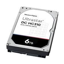 Ổ Cứng HDD ENTERPRISE WD ULTRASTAR DC HC310  6TB , 3.5
