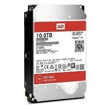 Ổ Cứng HDD Western 10TB RED- SATA 3 (6Gb/s) -  Intellipower,  Cache 256M