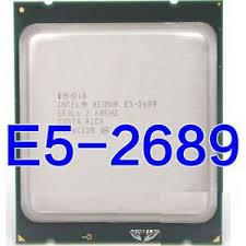CPU Intel Xeon E5 2689 (2.60GHz Up to 3.60GHz, 20M, 8C/16T) TRAY