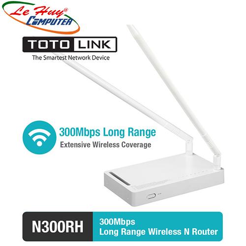 Thiết bị mạng - Router TotoLink N300RH
