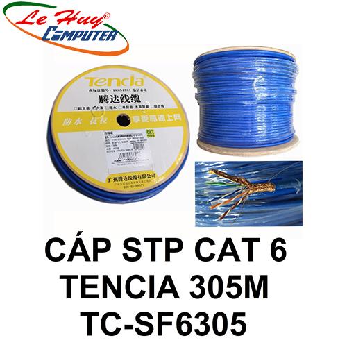 Cáp mạng TENCIA STP CAT6 TC-SF6305 305m