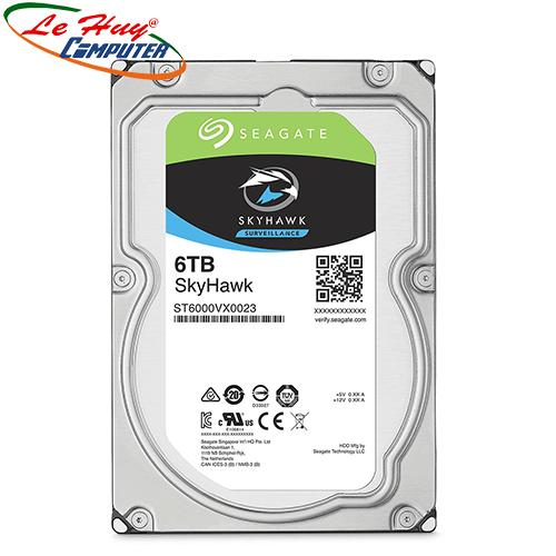 Ổ cứng HDD Camera Seagate Skyhawk 6TB 3.5