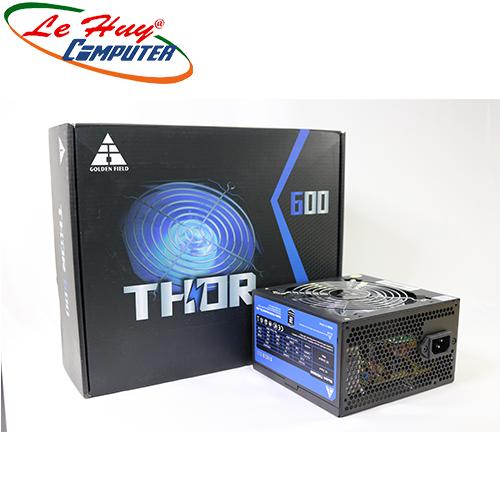 Nguồn máy tính Golden Field THor600-500W P.PFC