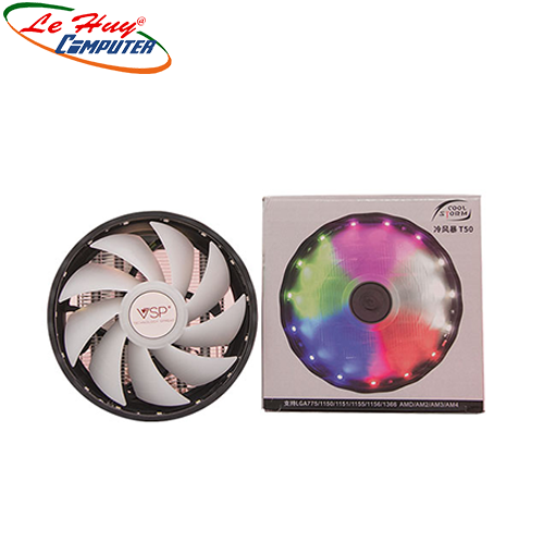 Fan CPU VSP T50-4U- 12cm LED