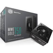 Nguồn máy tính Cooler Master MWE GOLD 750 Fully modular 750W- 80 Plus Bronze