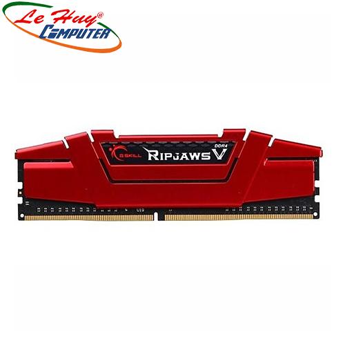 Ram Máy Tính GSKILL DDR4 8G/2400 RIPJAWS V (F4-2400C17S-8GVR)