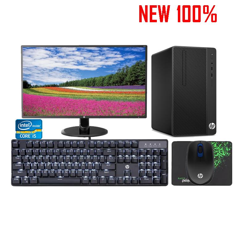 Máy tính để bàn/PC HP ProDesk 400 G5 MT i3 8100/4GB RAM/500GB HDD/DVDRW/K+M/DOS