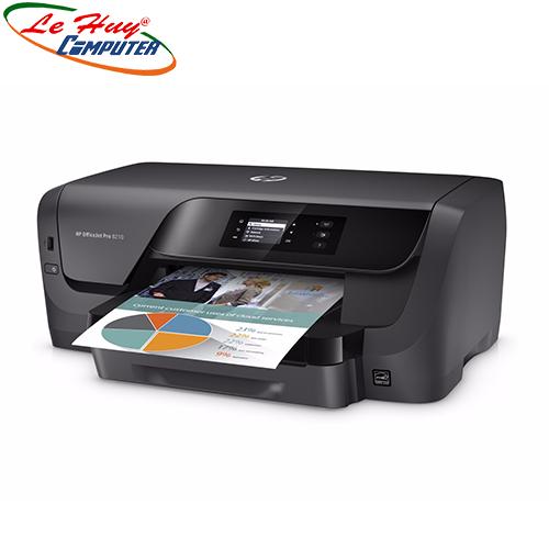 Máy in phun màu HP Officejet Pro 8210 (D9L63A)