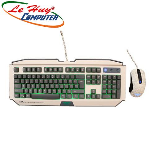 Combo Chuột và Bàn Phím máy tính Newmen GM100 + GX1-S