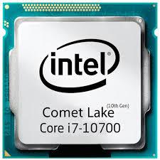CPU Intel Core I7-10700 8 Cores 16 Threads (4.9Ghz) - 10th Gen LGA1120 Z490 Compatible