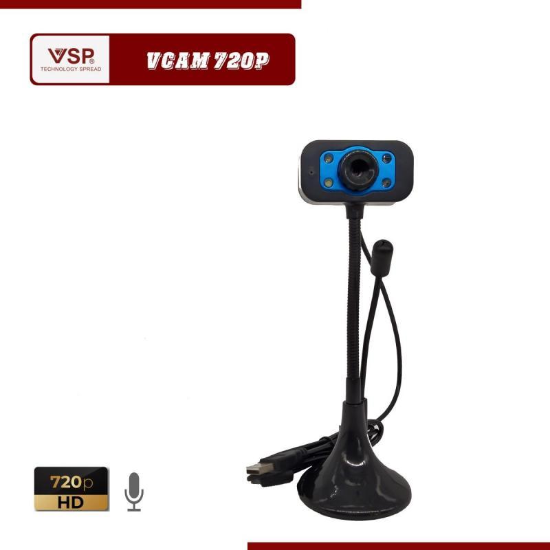 Webcam 480p HD / Chân Cao Tròn / Có Mic